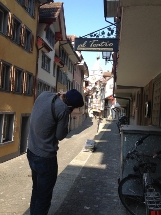 Old Town with Lewis